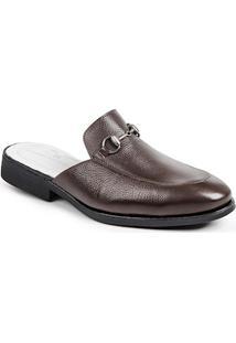 Sapato Mule Masculino Sandro Moscoloni Colection Marrom