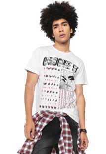 Camiseta Coca-Cola Jeans Groove It Branca