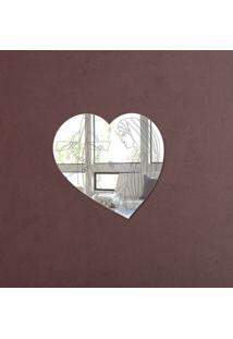 Espelho Decorativo Coração Virgem Maria