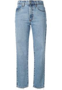 Nobody Denim Calça Jeans Slim Bessette - Azul