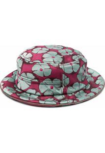 10 Corso Como Chapéu Bucket De Jacquard Com Estampa Floral - Cinza