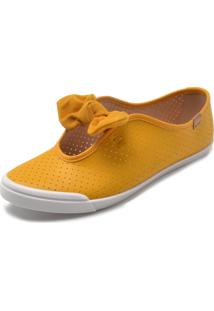Tênis Moleca Fosco Amarelo