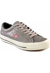 Tênis Converse All Star One Star Ox Cinza Ametista Co02940001 - Kanui