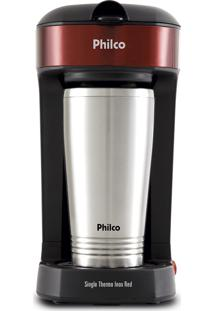 Cafeteira Single Thermo Inox Red Philco 220V Pcf21
