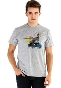 Camiseta Ouroboros Pinapbeatle1 Masculina - Masculino-Cinza