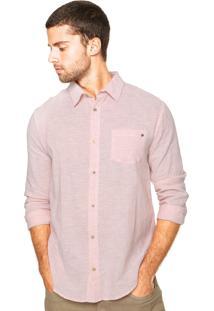 Camisa Triton Bolso Rosa