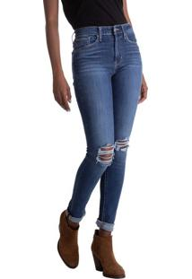 Calça Jeans Levis 721 High Rise Skinny - 30X32