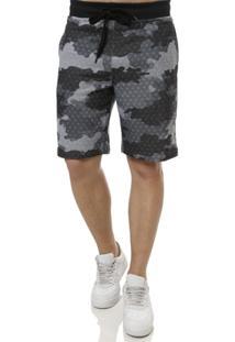 Bermuda Camuflada Masculina Federal Art - Masculino