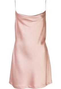 Alice+Olivia Slip Dress Harmony - Rosa
