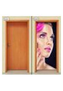 Adesivo Decorativo De Porta - Salão De Beleza - 1171Cnpt