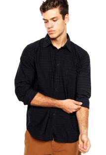 Camisa Quiksilver Mission Preta