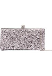 Jimmy Choo Clutch Com Brilhos - Roxo