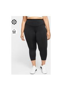 Plus Size - Legging Nike One Icon Clash Feminina