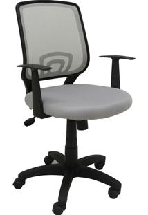 Cadeira De Escritório Avila-Rivatti - Cinza