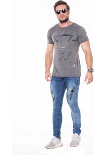 Camiseta Wolke Gola Careca Experien