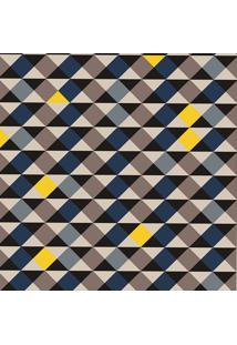 Tapete Mosaico Triangulos Color Casa Dona Antiderrapante 140 X 200 Cm Multicolorido