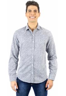 Camisa Norfolk Estampada - Masculino