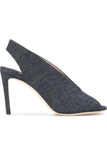 Jimmy Choo Sandália Jeans Shar 85 - Azul