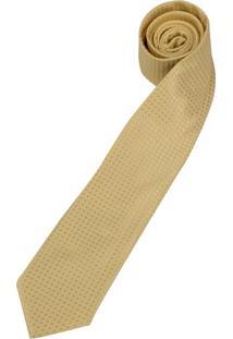 Gravata Amarela Texturizada - Uni