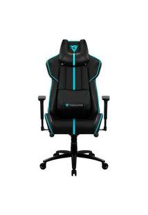 Cadeira Gamer Thunderx3 Bc7 Larger, Black/Cyan - 68841