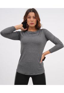 Blusa Lisa- Cinza Escuro- Patrapatra