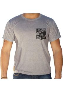 Camiseta Masculina Sandro Clothing Lee Cinza