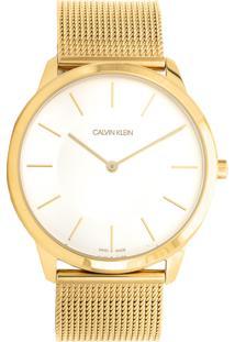 fa4a908ef28 ... Relógio Calvin Klein K3M2T526 Dourado