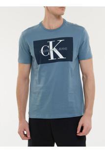 Camiseta Ckj Mc Re Issue - Indigo - Pp