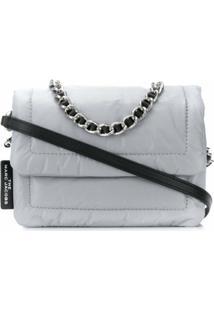 Marc Jacobs Bolsa Tiracolo Pillow - Cinza