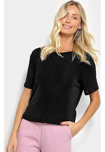 Camiseta My Favorite Thing (S) Feminina - Feminino-Preto