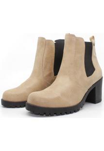 Bota Barth Shoes Bury Resina - Camel - Tricae