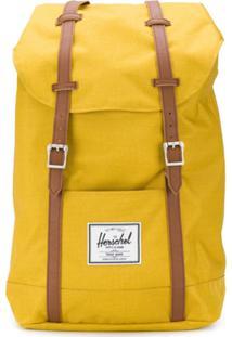 Herschel Supply Co. Mochila Retreat Com Contraste - Amarelo