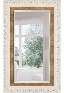 Espelho Decorativo Milão 78X128 Cm Branco