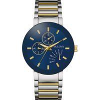 f2a1dcc119d Relógio Bulova Masculino Aço Prateado E Dourado - 98C123 Vivara