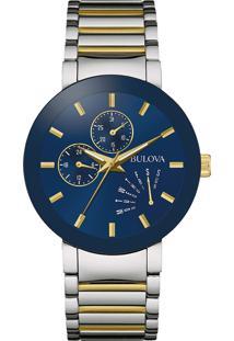 0e48965e51b Vivara. Relógio Dourado Masculino Aço ...