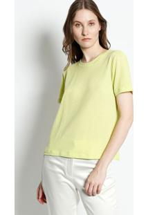 Camiseta Listrada - Amarelacanal