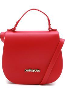 Bolsa Petite Jolie Verniz Vermelha
