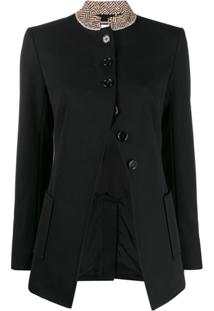 Chloé Fitted Single-Breasted Blazer - Preto