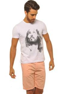 Camiseta Joss Premium Son Of God Masculina - Masculino-Branco