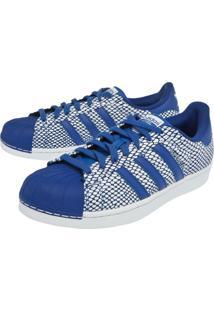 Tenis Adidas Originals Superstar Snake Azul