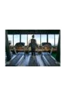 Painel Adesivo De Parede - Fitness - Academia - 989Pnm