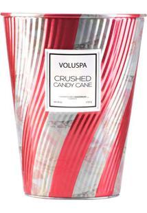 Vela Lata Cone 100 Horas Crushed Candy Cane Voluspa