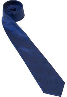 Gravata De Seda Azul