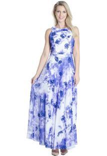 Vestido Longo Floral Primeira Etapa