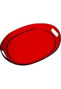 Bandeja Acrílica Vermelha - Kos