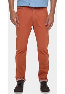 Calça Razon Skinny Sarja Color - Masculino