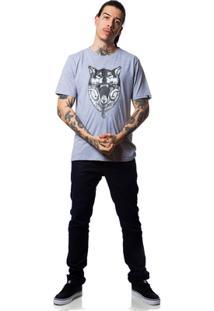 Camiseta Fallen Wolf - Masculino-Mescla