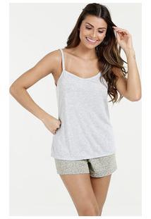 f178ae7c0 Marisa. Pijama Feminino Short Doll Estampado Alças Finas Marisa