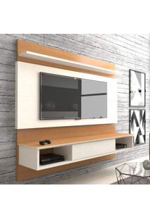 Painel Para Tv Até 60 Polegadas 2,20 M 1 Gaveta Versatile Casa D Noce/Off White