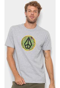 Camiseta Volcom Silk Peace - Masculina - Masculino